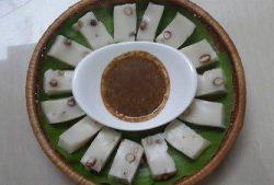 Đổi món ăn chay với bánh đúc lạc 8