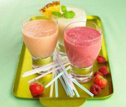 Thức uống thực dưỡng sinh tố chanh và trái cây 2