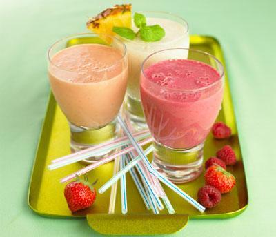 Thức uống thực dưỡng sinh tố chanh và trái cây 1