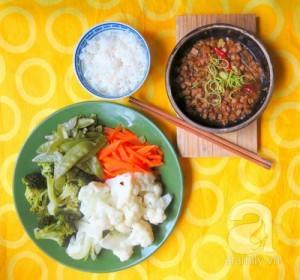 Món chay đậu hủ kho quẹt giản dị mà siêu ngon cơm