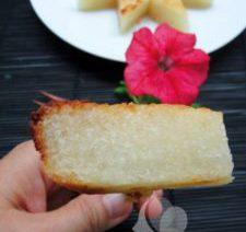 Món chay: Bánh khoai mì nướng thơm lừng 7
