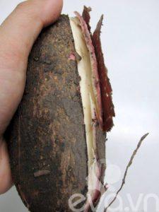 Món chay: Bánh khoai mì nướng thơm lừng