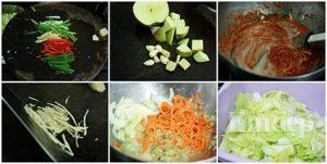Cách làm kim chi cho người ăn chay