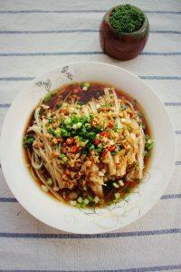 Món chay nấm trộn siêu ngon