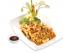 Món chay : Hẹ xào đậu hủ vàng . 9