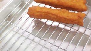 Món chay bánh quẩy cuốn với rau củ độc đáo