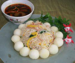 Bún Xào Củ Su & Thịt Sợi Chay 1