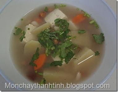 Món chay canh Sa-kê