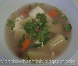 Món chay canh Sa-kê 5