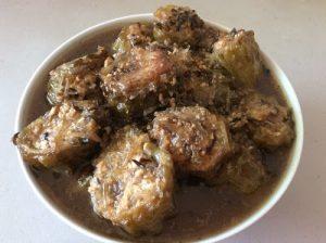 Món ăn chay: Khổ qua nhồi tàu hủ kho