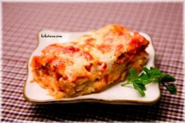 Lasagna Chay 2