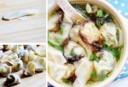 Xì xụp súp món chay hoành thánh đậm đà 1
