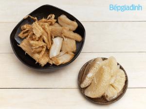 Món chay: Cách làm gỏi bưởi chay ngon