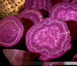 Ăn chay với canh khoai nấu nấm 9