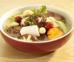 Canh nấm chay 9