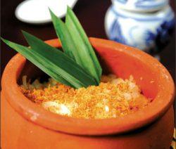 Món chay cơm niêu Thái 6