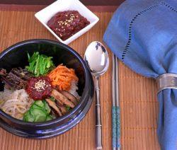 Cơm trộn chay kiểu Hàn Quốc . 7