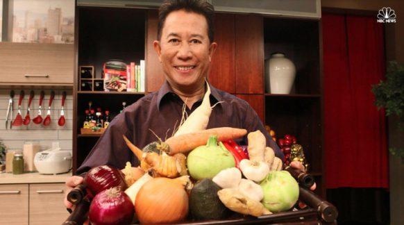 Vua bếp Yan Can Cook ăn chay để trẻ khỏe ở tuổi U70 1
