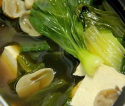 Lạ miệng với món chay súp Miso 10