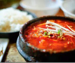 Món chay : Lẩu nấm đậu hủ Hàn Quốc . 1