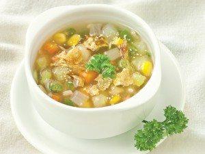 Cách nấu súp măng cua chay tuyệt ngon ngày hè