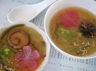 Ấm lòng với Món chay: Soup Bí Miso.
