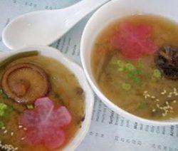 Ấm lòng với Món chay: Soup Bí Miso. 10