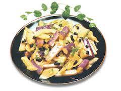 Món chay : Cà trộn dưa cải …