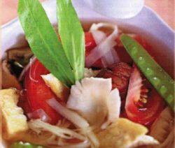 Món chay:Canh chua nấm 3
