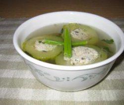 Canh đậu hủ dồn bí đao 2