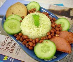 Món chay thơm ngon : Cơm Dừa . 2