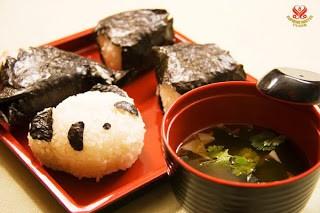Món chay : Cơm nắm Nhật Bản Origini . 1