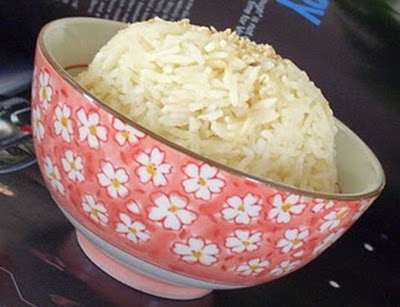 Món chay : Cơm sữa đậu nành . 1