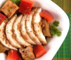 Món chay củ hủ dừa 4
