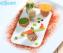 Món chay : Bánh cuốn xào rau cải . 10