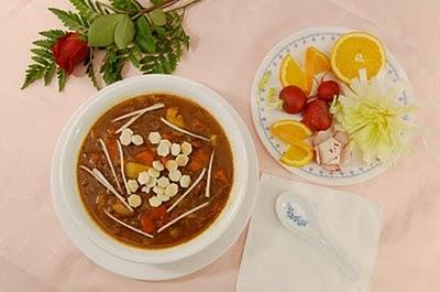 Ăn ngon với món chay : Soup Chi-Li . 1