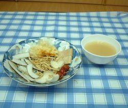 Ấm lòng với món chay : Soup Dừa . 7