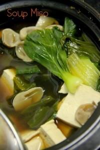 Món chay soup Miso