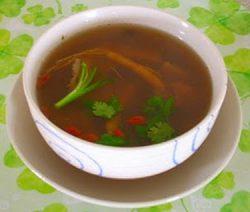 Món chay : Soup Thảo dược … 9