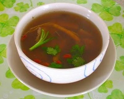 Món chay : Soup Thảo dược … 1