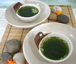 Món chay đặc biệt : Soup trà xanh . 3