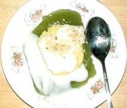Món chay bánh gói nước dừa 2