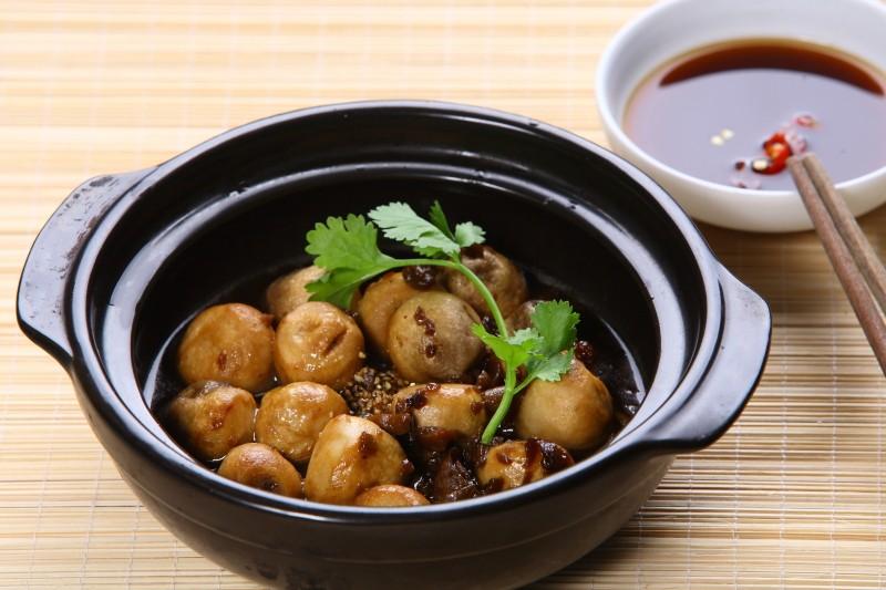 Món chay ngon: Nấm rơm kho tiêu