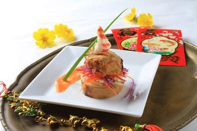 Thưởng thức món chay : Phi-lê cá xốt cam.
