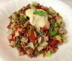 mon chay ngon miệng: Salad đậu lenti 5