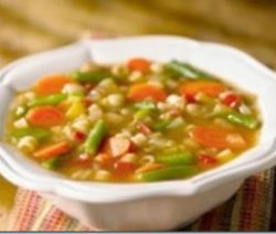 Soup Ý Chay (Vegetarian Minestrone Soup) . 7